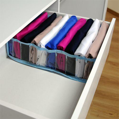 Colmeia Organizadora Para Camisetas - Azul 2 Peças  - Shop Ud