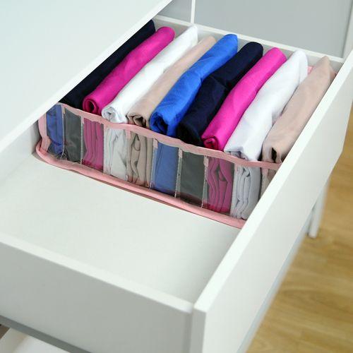 Colmeia Organizadora Para Camisetas - Rosa 4 Peças  - Shop Ud