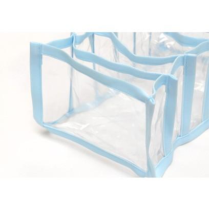 Colmeia Organizadora para Biquinis, Body de Bebê Transp Viés Azul 2 peças  - Shop Ud
