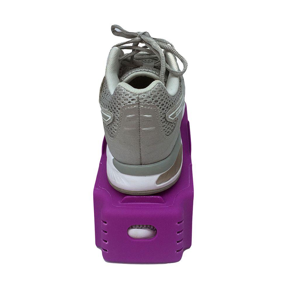 Organizador de Sapato Rack com 20 unidades Lilás  - Shop Ud