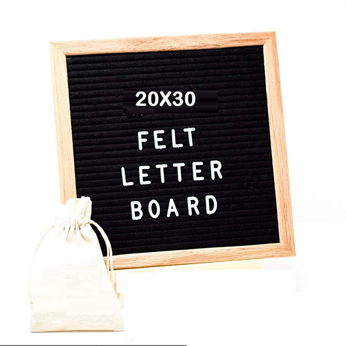 Quadro Letreiro Decorativo Recado Letter Board Madeira  - Shop Ud