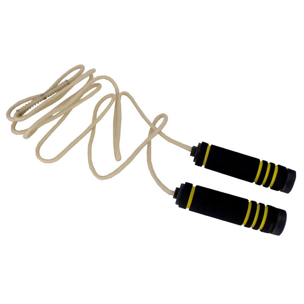 Corda De Pular Crossfit Jump Rope Treino Academia - Amarela  - Shop Ud