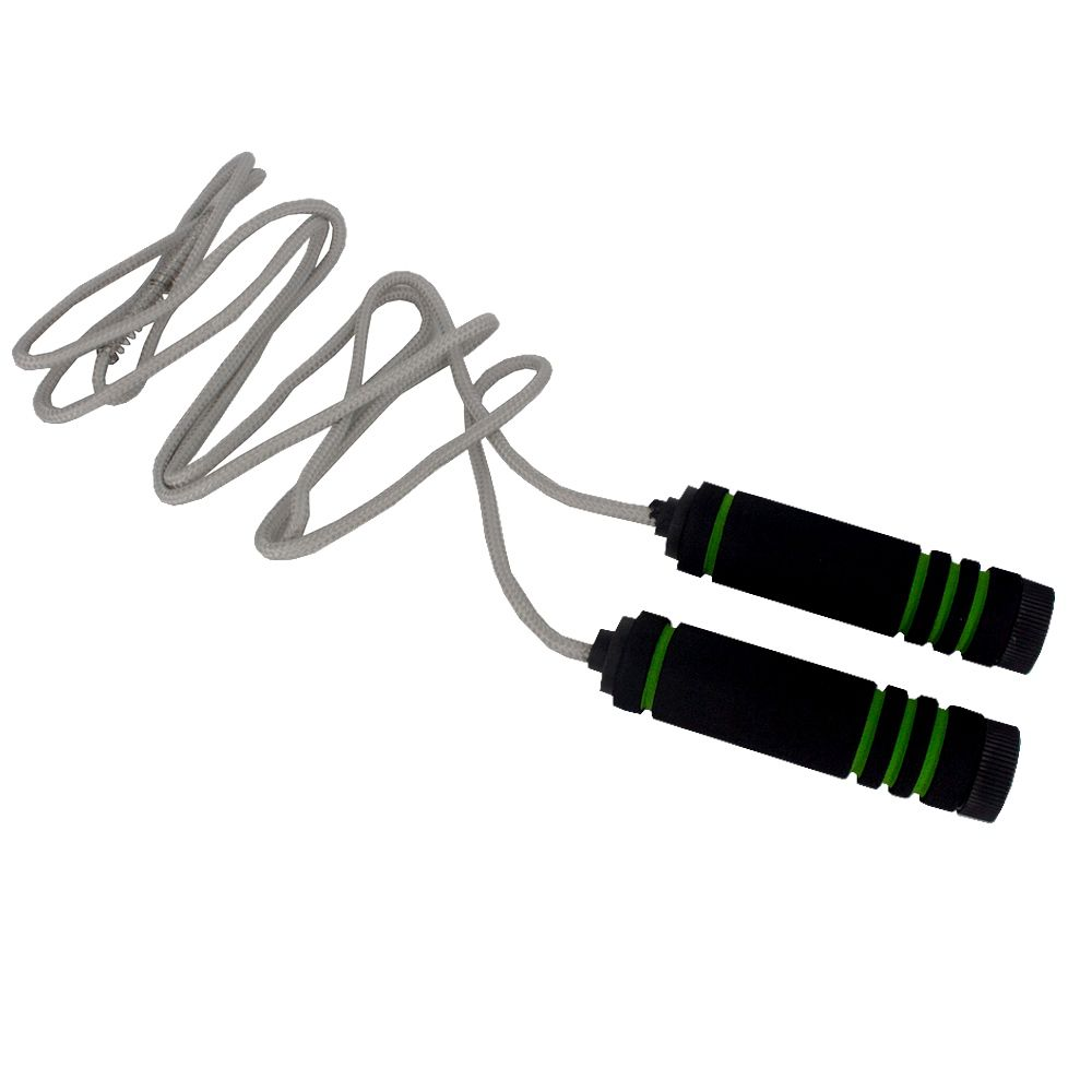 Corda De Pular Crossfit Jump Rope Treino Academia - Verde  - Shop Ud