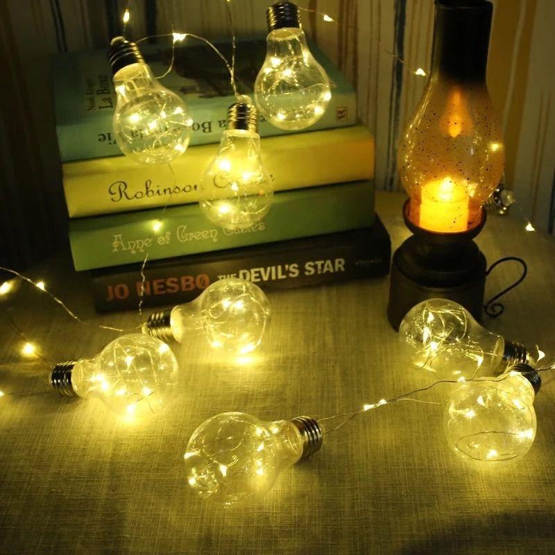 Cordão 10 Lampadas Luz De Fada Cor Amarela 3M  - Shop Ud