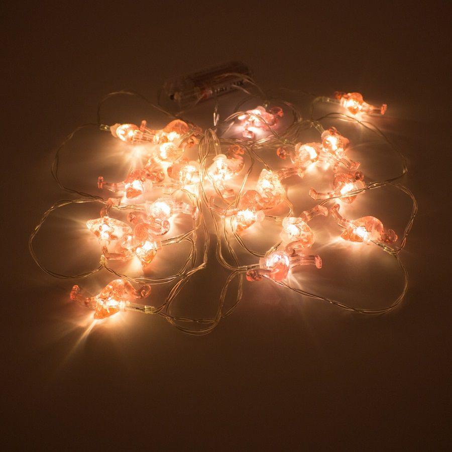 Cordão Luz de LED 20 Flamingos - 3,15m  - Shop Ud