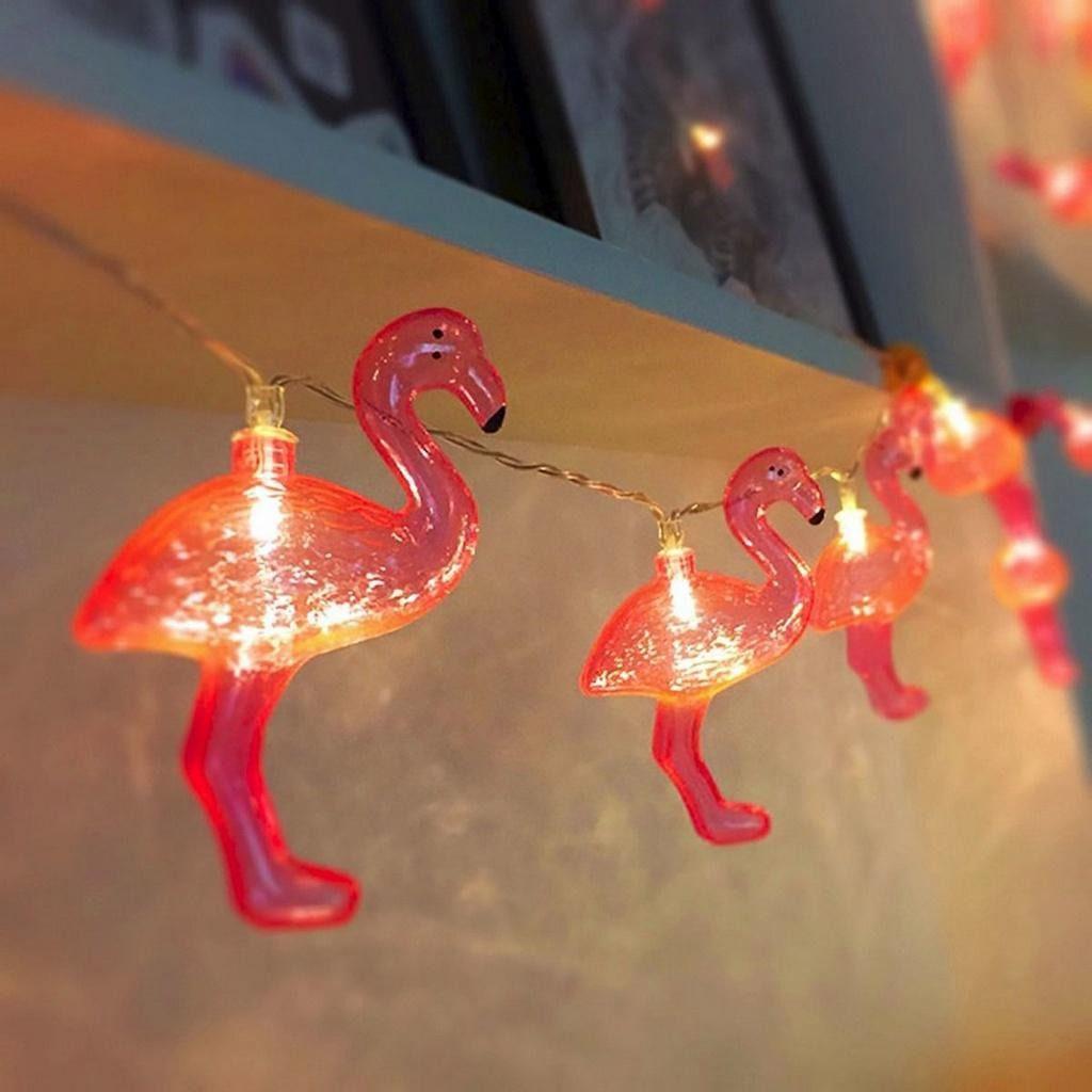Cordão Luz Led De Flamingo  - Shop Ud