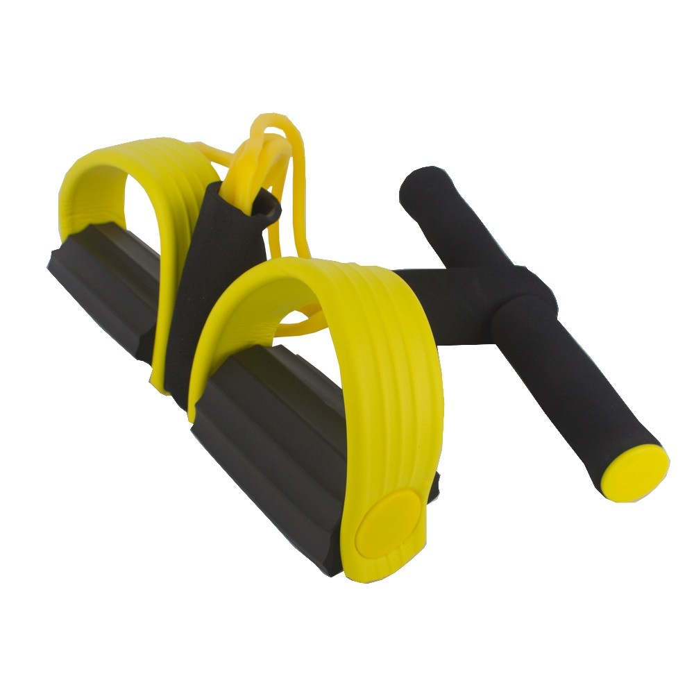 Elástico Malhar Extensor Academia Treino Pilates Fit Amarelo  - Shop Ud
