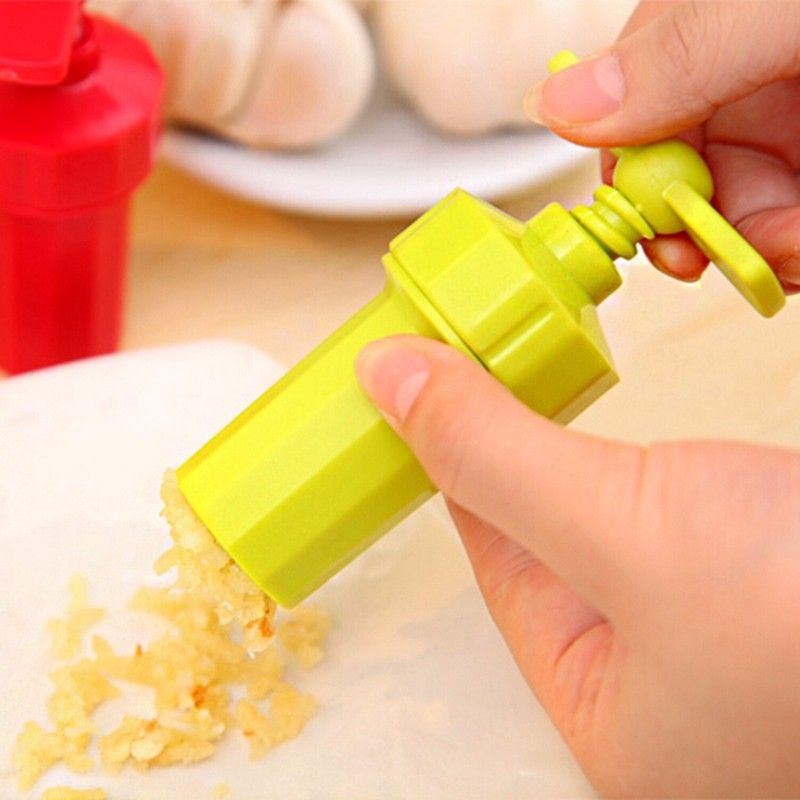 Espremedor De Alho Plastico Portatil Rosqueavel  - Shop Ud