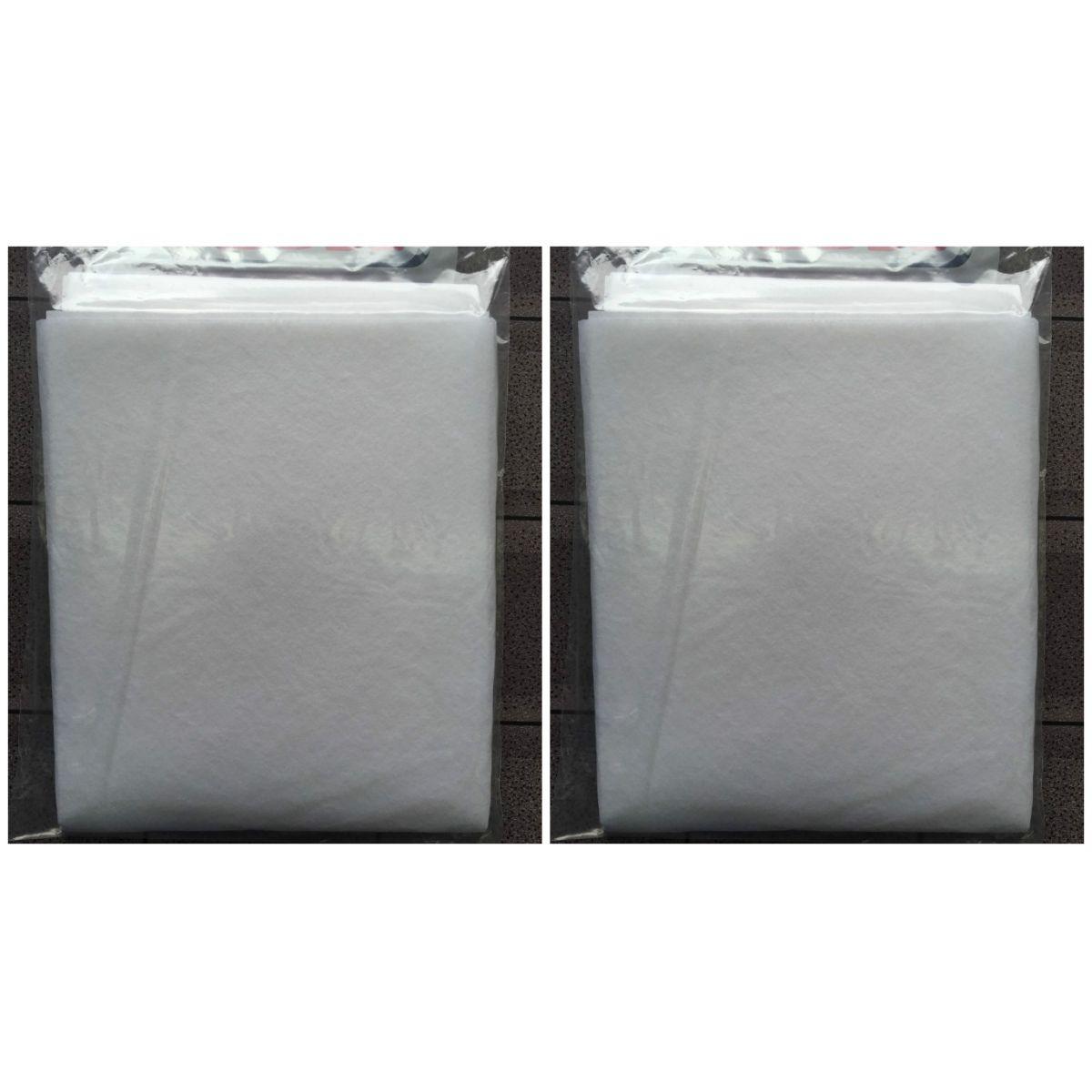 Filtro Branco para Coifa/ Exaustor 60x80cm/para fogão de até 6 bocas- 2 unidades  - Shop Ud