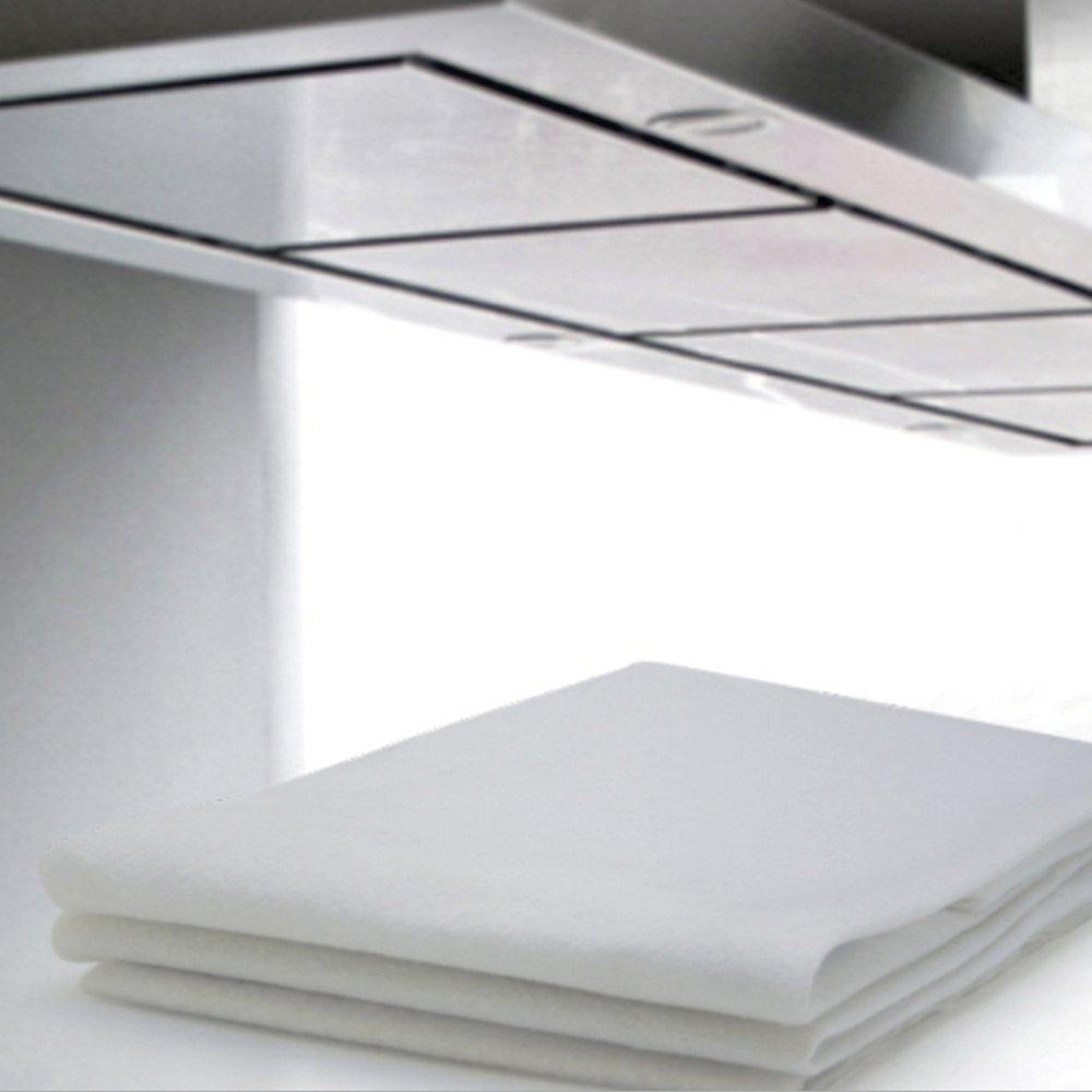 Filtro Branco para Coifa/ Exaustor 80x60cm/ para fogão de 4 a 6 boca- 8 unidades