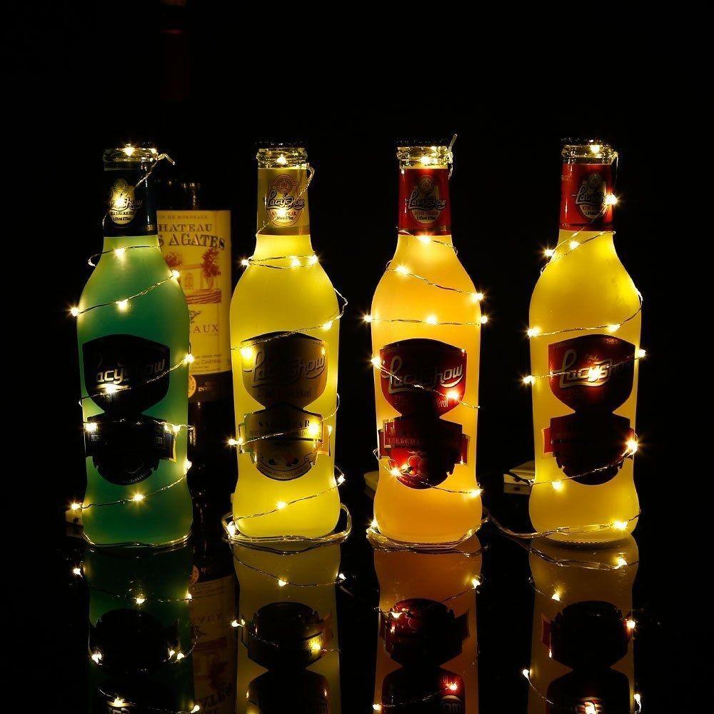 Fio Cobre Cordão Luz Fada 2m 20 Leds a Pilhas   - Shop Ud
