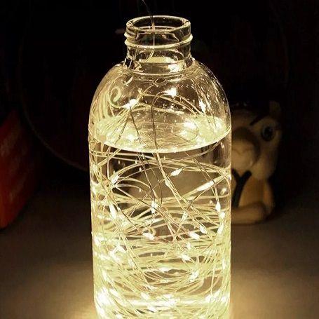 Fio Cobre Cordão Luz Fada 3m 30 Leds a Pilhas   - Shop Ud