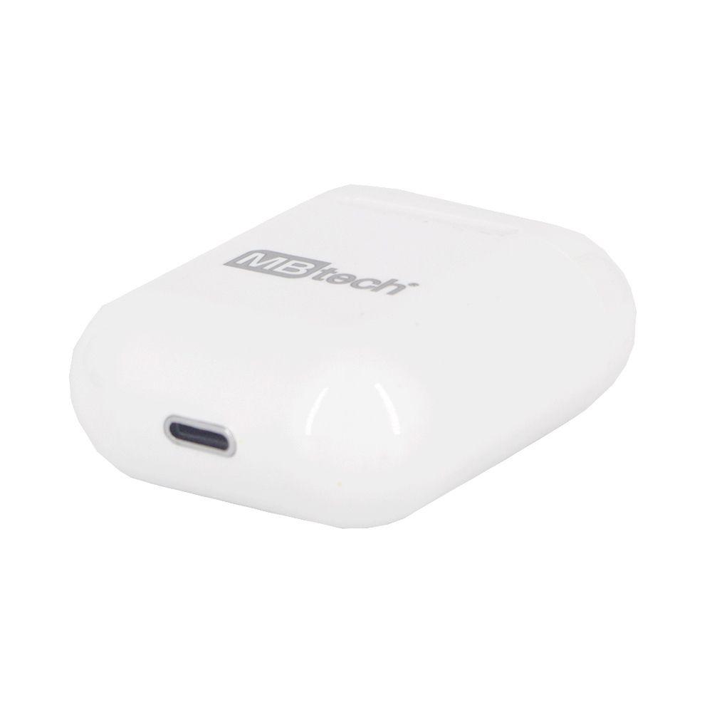 Fone Ouvido Wifi Sem fio Compatibilidade Android IOS Branco  - Shop Ud