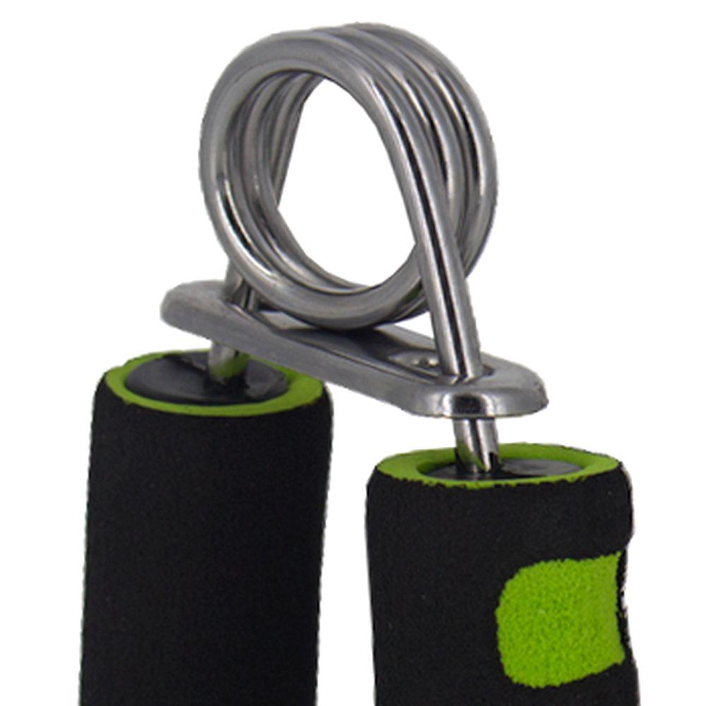 Hand Grip Exercícios Mãos Antebraço Fisioterapia Preto/Verde  - Shop Ud