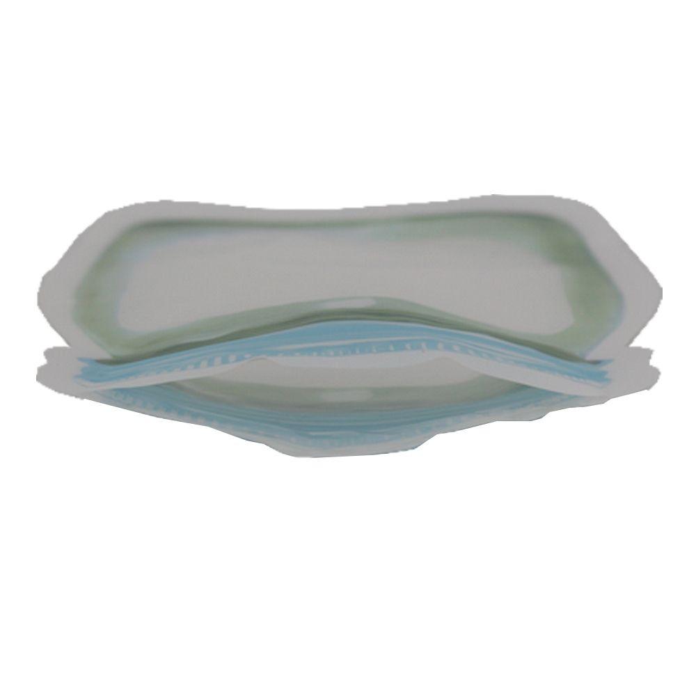 Kit 03 Sacos Hermético Reutilizável Abre Fecha Verde e Azul  - Shop Ud