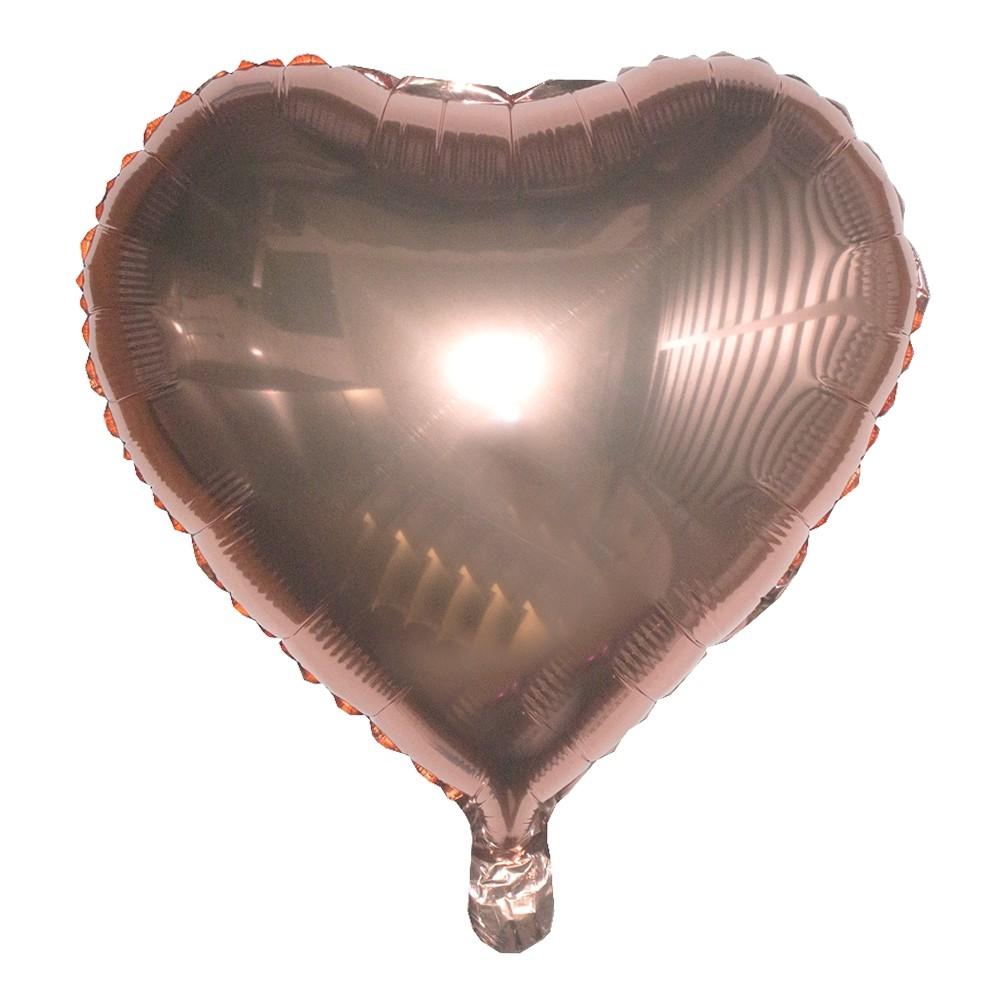 Kit 08 Balões Buque Látex/Metalizado - Rose Gold  - Shop Ud
