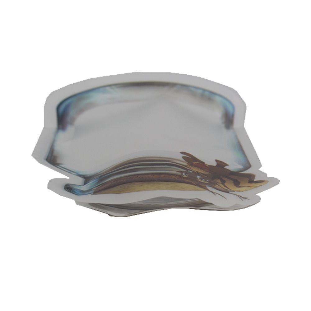 Kit com 03 Sacos Hermético Reutilizável Abre e Fecha Esquilo  - Shop Ud