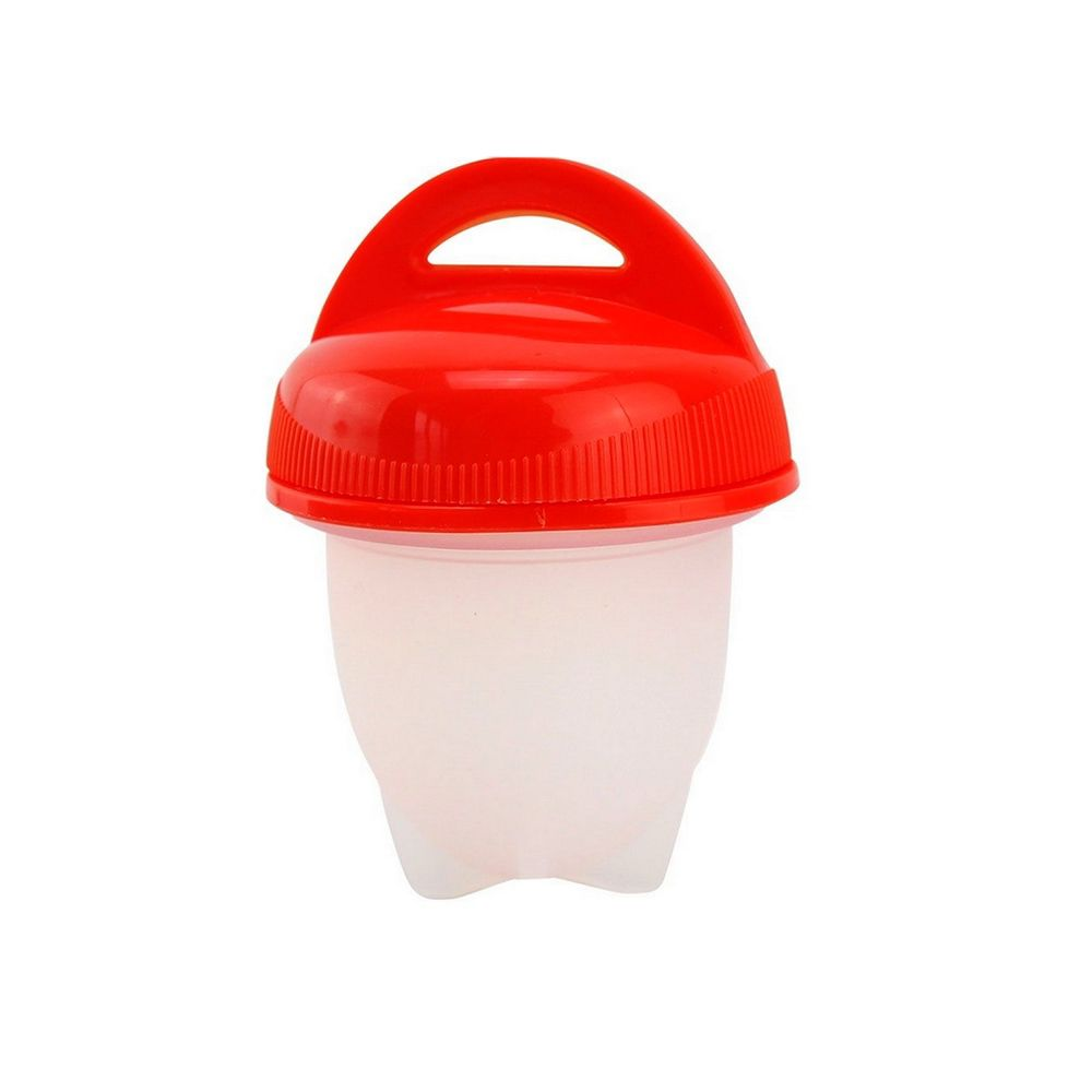 Kit com 06 porta ovos para Cozimento - Vermelho  - Shop Ud