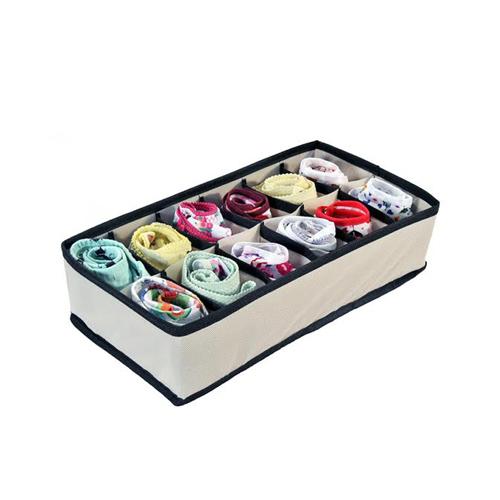 Kit Organizador de Gavetas (calcinhas, sutiãs e meias) com 4 peças  - Shop Ud