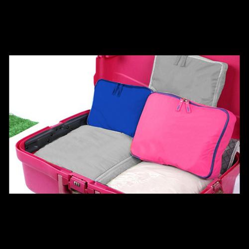 Organizador de malas VB Home Azul com 5 peças  - Shop Ud