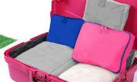 Kit organizador de malas Rosa 5 peças  - Shop Ud