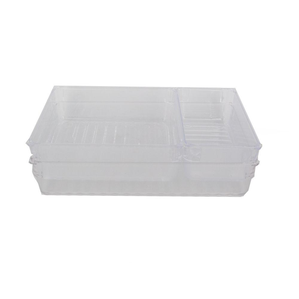 Kit Organizador Multiuso para Gavetas- 03 peças  - Shop Ud