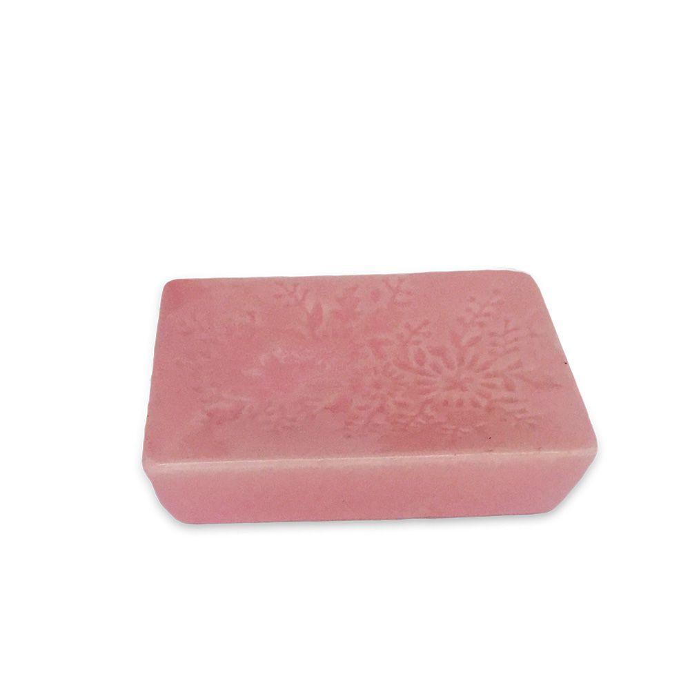 Kit Para Banheiro Rosa Flores 3 Peças Sabonete Liquido  - Shop Ud