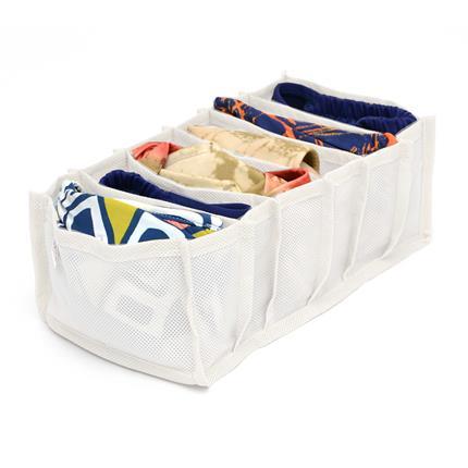 Kit para Organizar Gavetas 3 Peças em TNT Branco  - Shop Ud