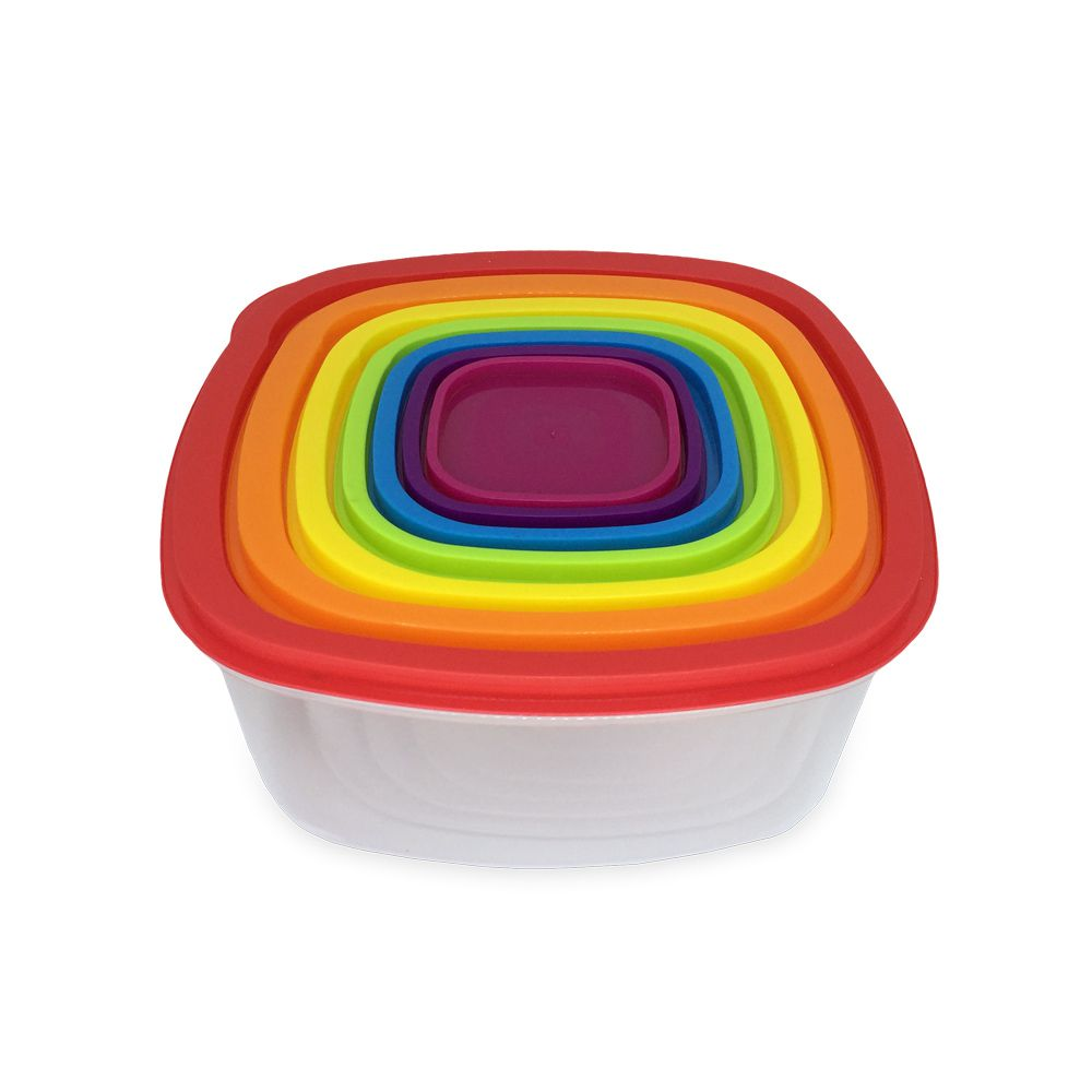 Kit Potes Plásticos com 7 peças  - Shop Ud