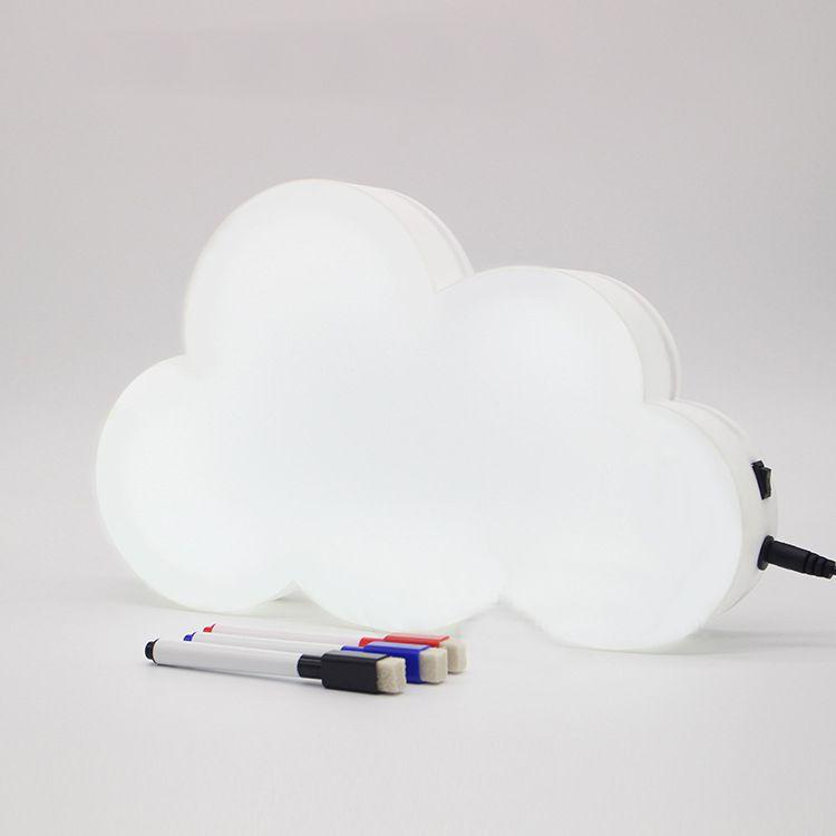 Letreiro para mensagem luminoso Nuvem