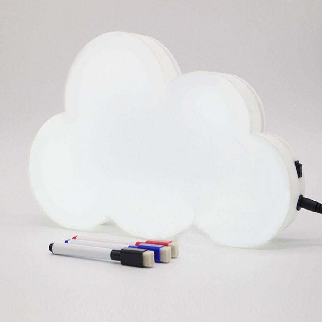 Letreiro para mensagem luminoso Nuvem  - Shop Ud