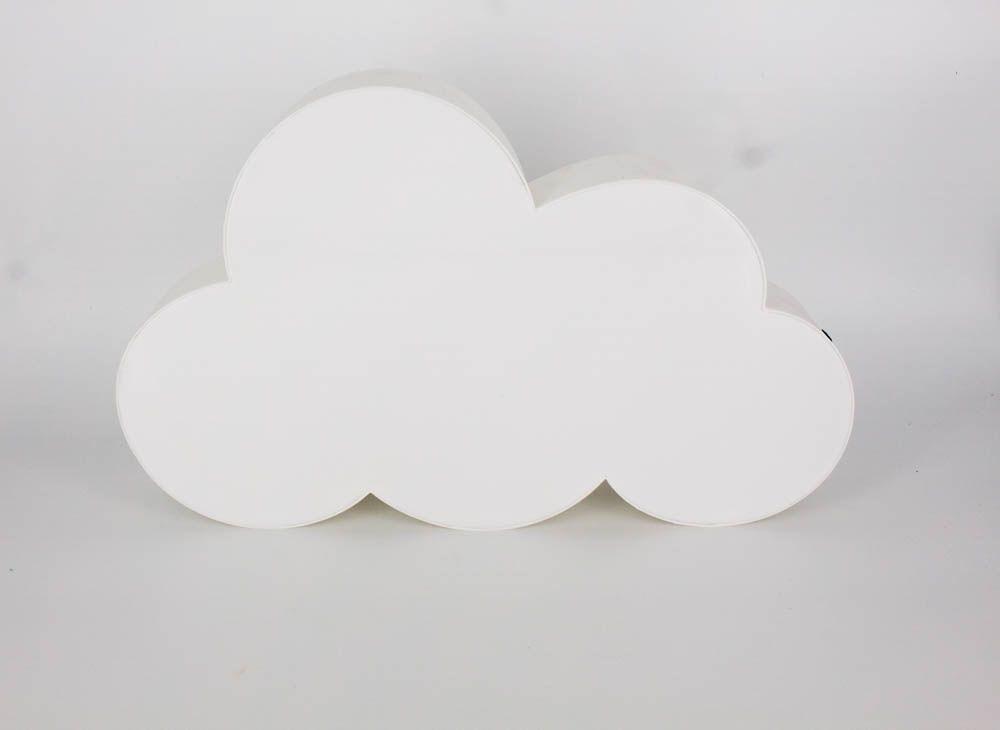 Letreiro para Mensagem Luminoso Nuvem - Branca