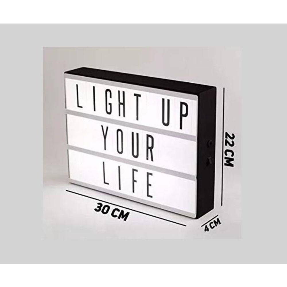 Letreiro Quadro Led Light Box Cinema - Shop Ud