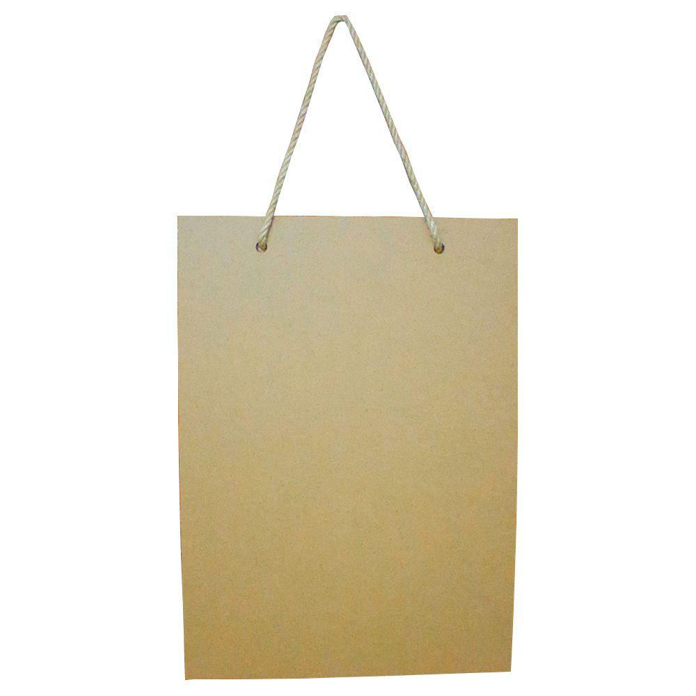 Lousa Decorativa Lista de Compras – Preta (MDF)   - Shop Ud