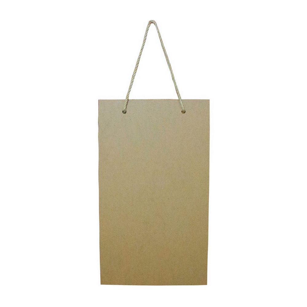 Lousa Decorativa (Nada é Impossível) – Preta (MDF)   - Shop Ud