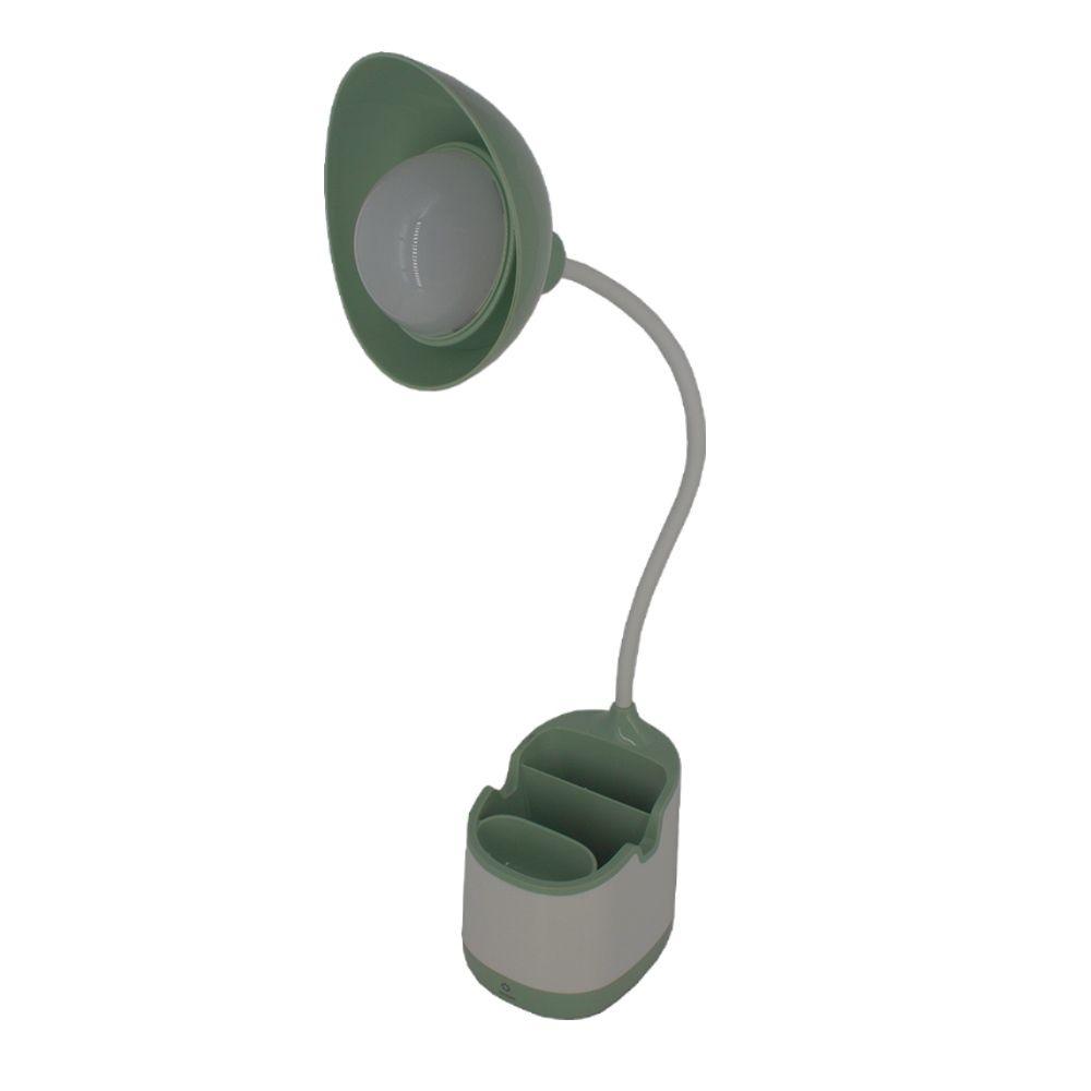 Luminária com Suporte com Porta Treco e Cabo Regulável Verde  - Shop Ud