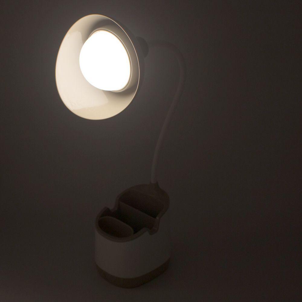 Luminária com Suporte Porta Treco e Cabo Regulável Marrom  - Shop Ud