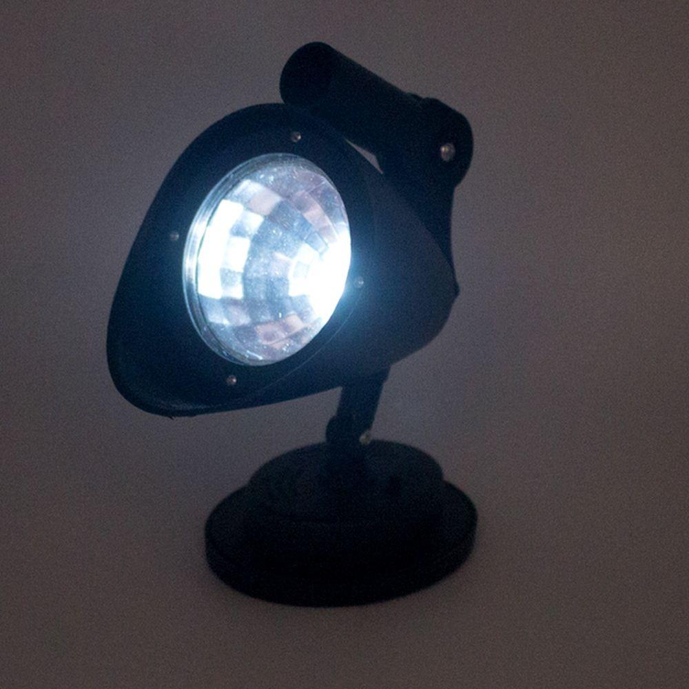 Luminária de Jardim com Luz Solar de Espetar no Solo - Preto  - Shop Ud