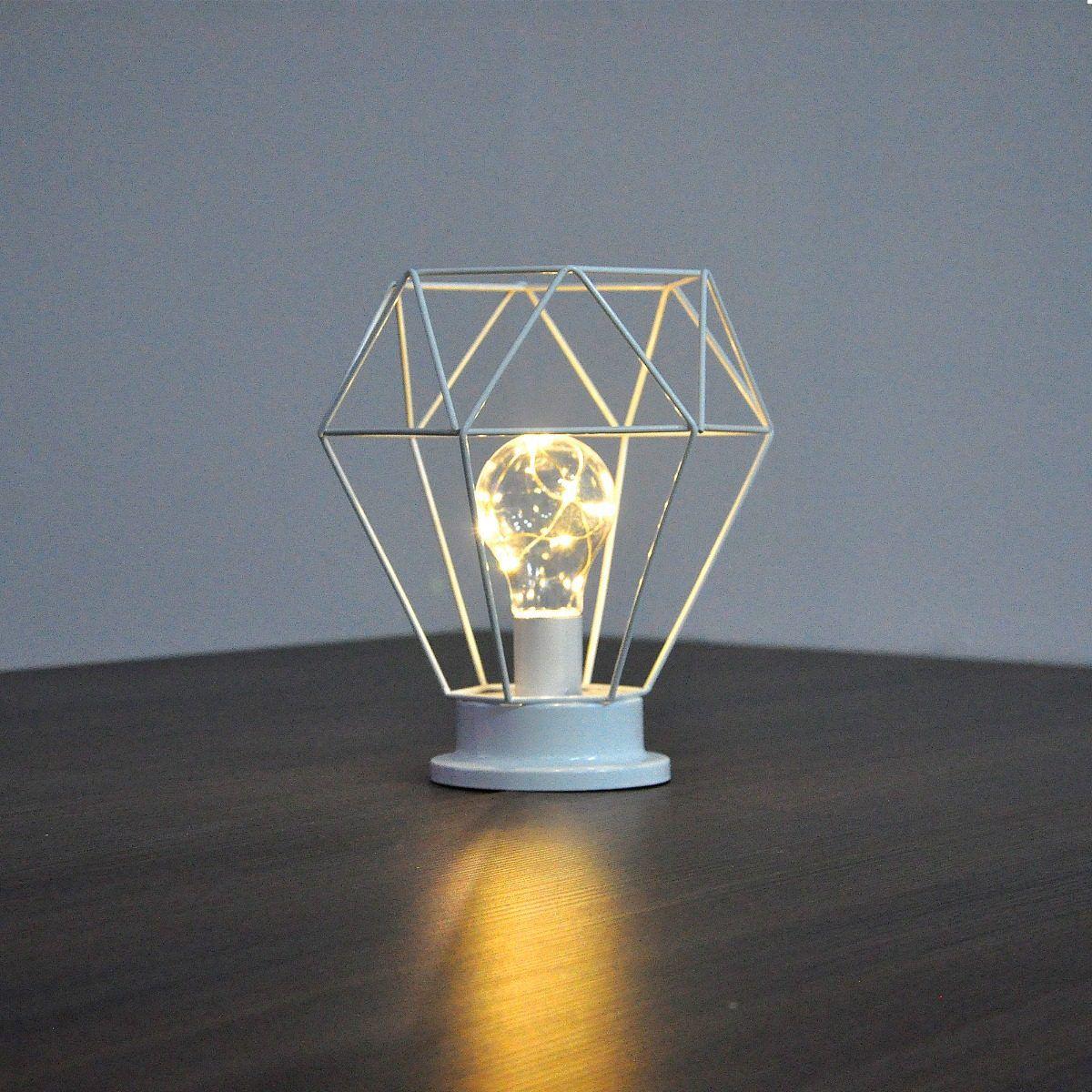 Luminária Decorativa De Mesa De Ferro   - Shop Ud