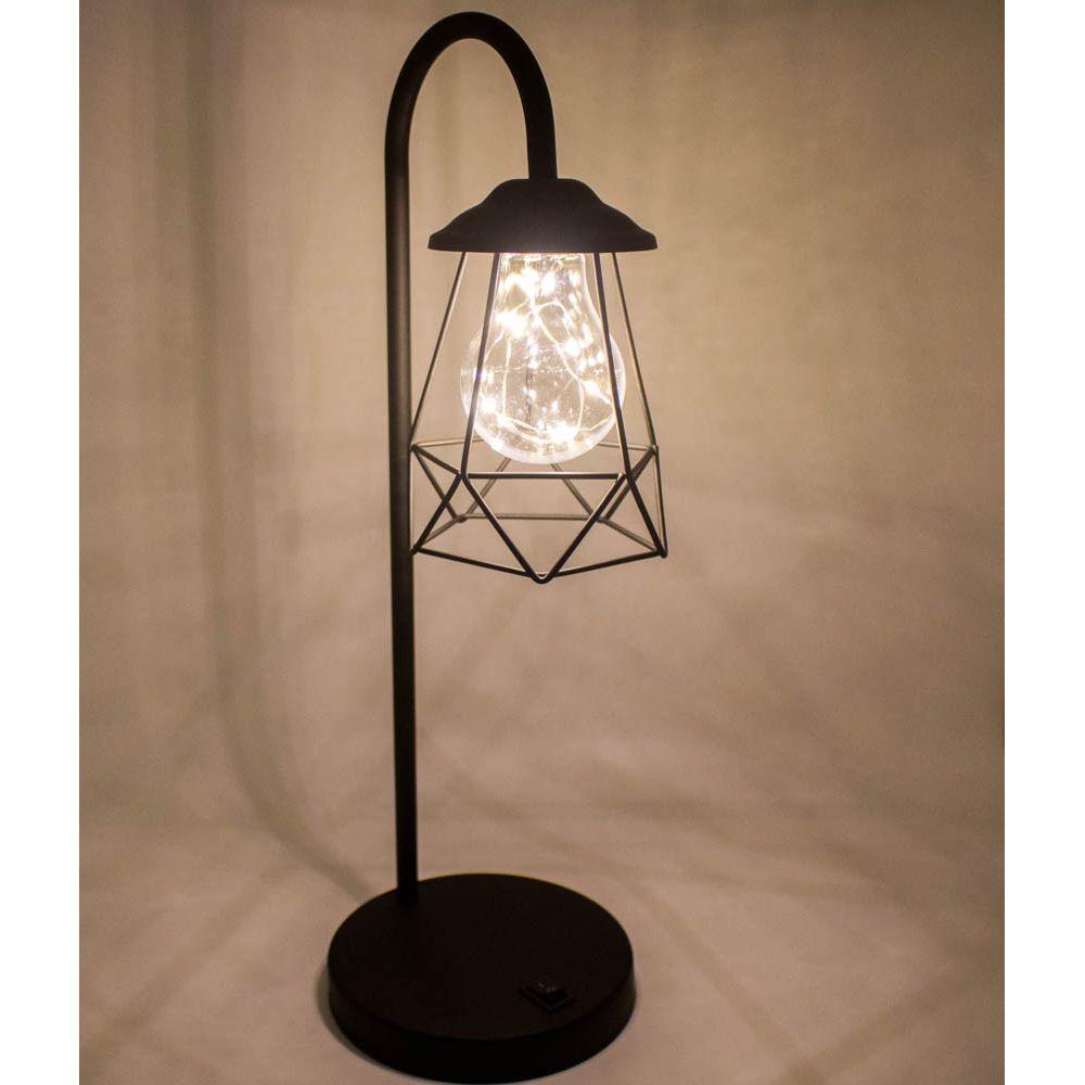 Luminária Decorativa de Mesa - Quadrada  - Shop Ud