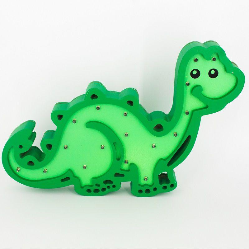 Luminária Dinossauro LED MDF