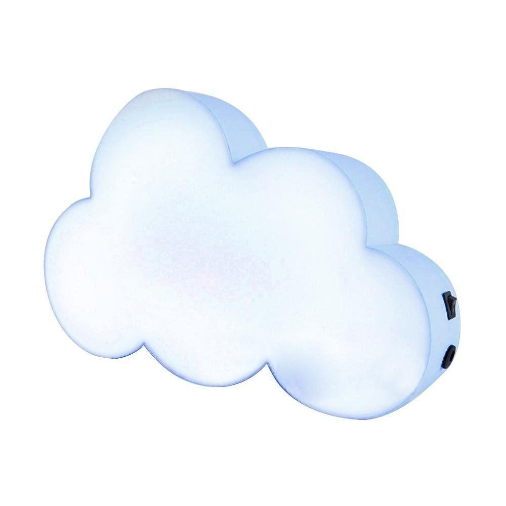 Luminária Nuvem Escrever Light Box Porta Recado +3 Canetas- Azul  - Shop Ud