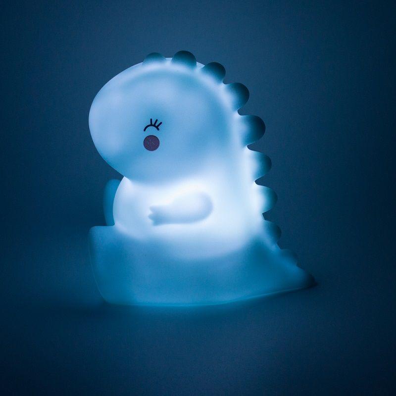 Mini Luminária Dinossauro LED Azul  - Shop Ud