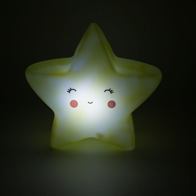 Mini Luminária Estrela Amarela de Led   - Shop Ud