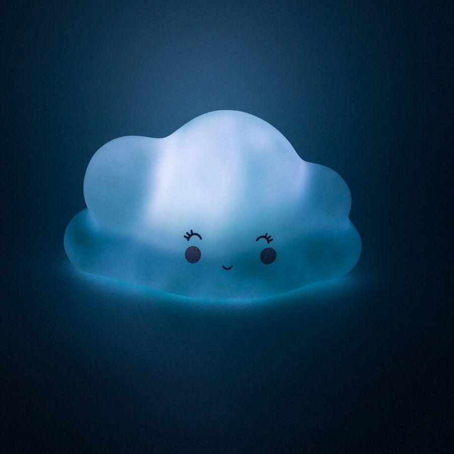 Mini Luminária Nuvem azul de Led   - Shop Ud