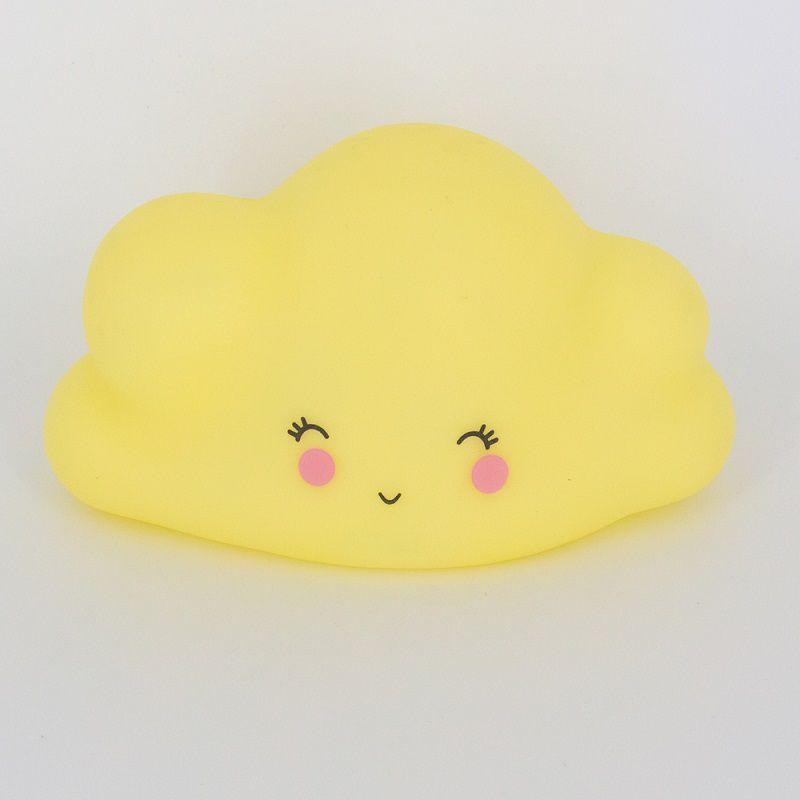Mini Luminária Nuvem Amarela Led  - Shop Ud
