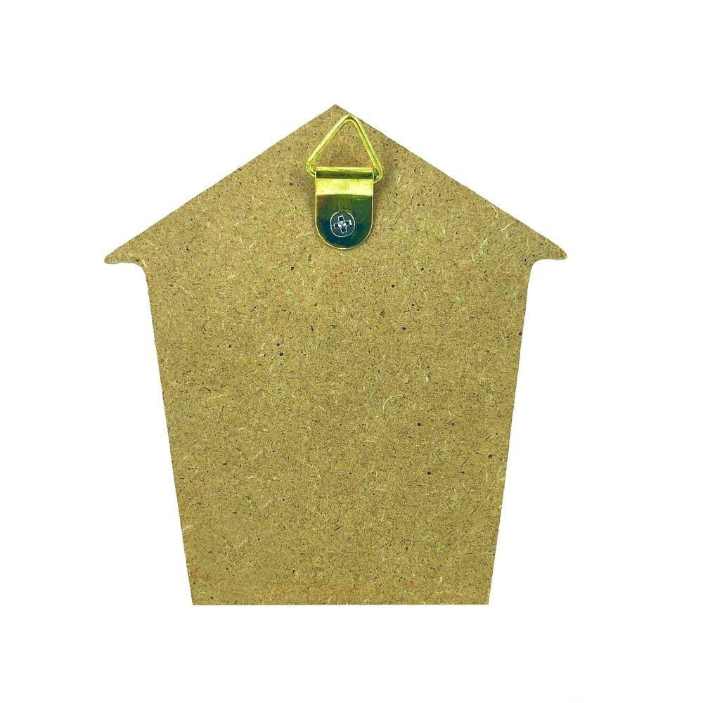 Mini Porta Chaves com 02 Ganchos – Lobo Marrom  - Shop Ud