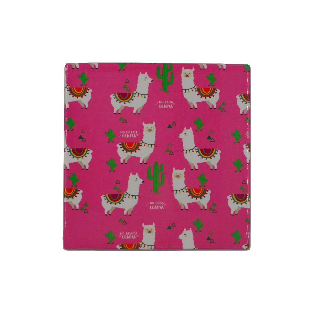 Mini Quadro Decorativo – Ilhama (Fundo Pink)  - Shop Ud