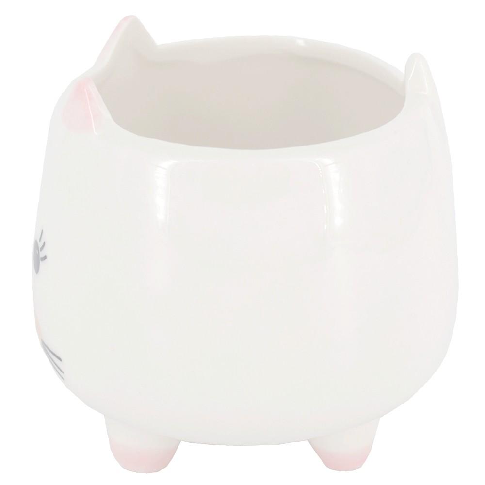 Mini Vaso - Gatinha com Bochechas Rosa  - Shop Ud