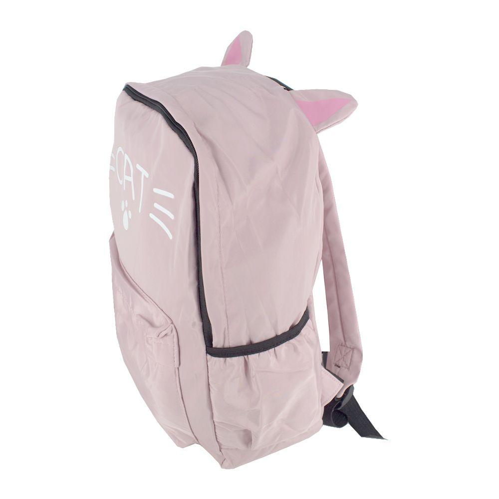 Mochila Orelhinha de Gato Rosa Bebê Cat Patinha  - Shop Ud